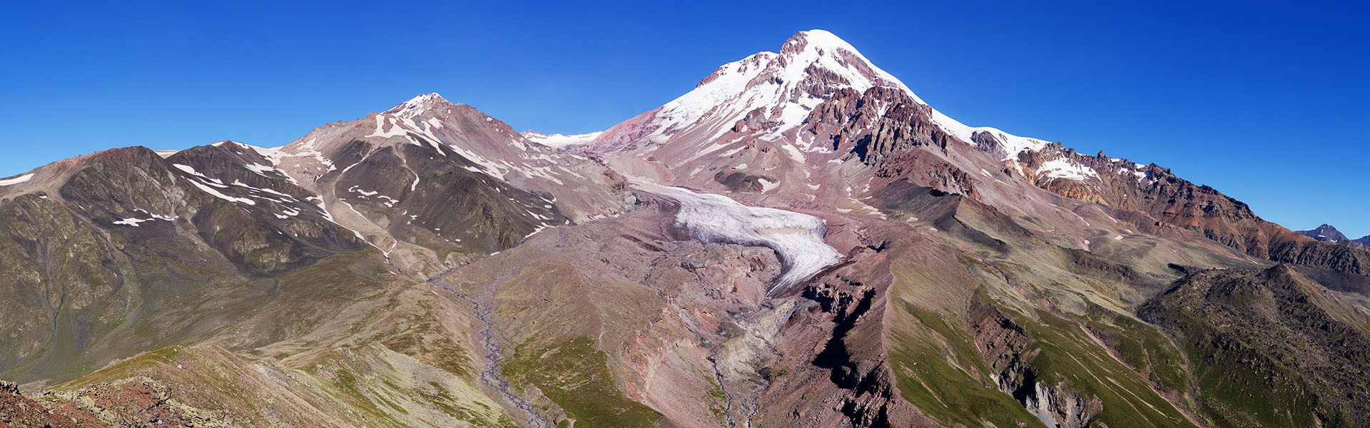 Tour to Mount Kazbek